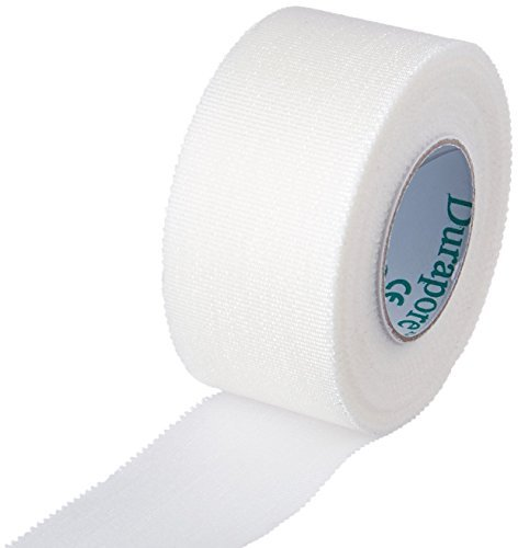 Durapore Medical Tape, Silk Tape - 1 in. x 10 yards - Each Roll - Pack of 6