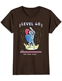 Level 40 Complete Unlocked Shirt : Funny 40th Gamer Birthday
