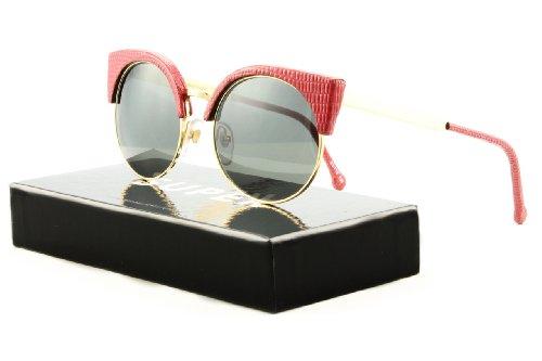 Retrosuperfuture Super Ilaria Womens Sunglasses SU924 Red...
