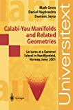 img - for Calabi-Yau Manifolds and Related Geometries book / textbook / text book