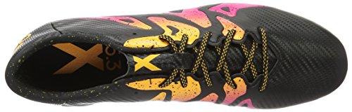 adidas X 15.3 Fg/Ag, Botas de Fútbol para Hombre Varios Colores (Cblack/shopin/sogold)