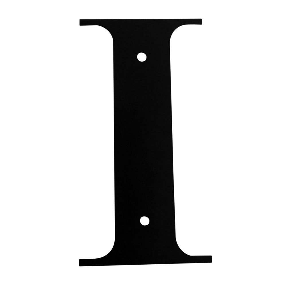 Iron Address Letters House Letter I 6'' - Heavy Duty Metal House Numbers and Letters, House Signs