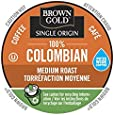 Brown Gold, 100% Colombian Coffee, 48 Single Serve RealCups