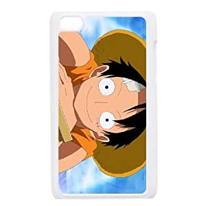one piece ipod 4 cell phone case White Beautiful gifts KF0697748