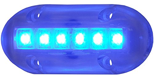 T-H Marine LED-51867-DP High-Intensity Underwater LED Light - Blue