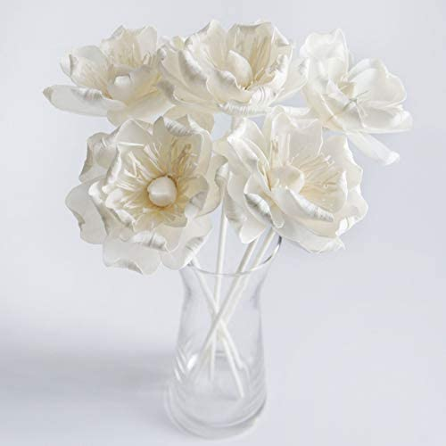 2 Valentines Rose 3 Sola Flower with Rope Diffuser for Aroma Oil by Plawanature