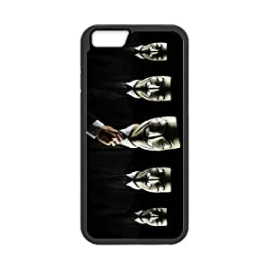 Awesome Mask Cool Black Costume TPU Frame & PC Hard Back Cover Case for Iphone 6 4.7'' by Maris's Diary