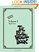 #9: The Real Vocal Book - Volume 1  High voice -Second Edition