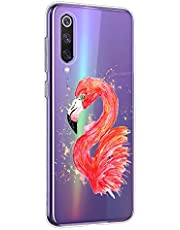 Oihxse Compatible con Xiaomi MI MIX4 Funda Suave Gel TPU Silicona Cristal Transparente Carcasa Acuarela Animal Pintado Patrón Protectora Estuche Bumper Caso Case (B3)