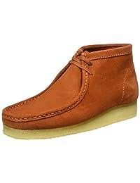 Clarks Originals Mens Wallabee Vintage Suede Boots