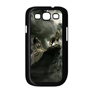 I-Cu-Le Phone Case Wolf Hard Back Case Cover For Samsung Galaxy S3 I9300