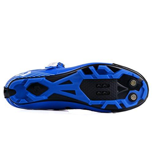 Bike Black MTB Blue Shoe SD002 Professional Mountain Shoes Cycling Mens SIDEBIKE gSRcnOZn