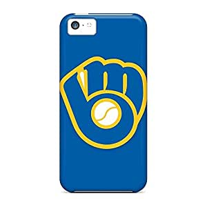 Compatible mobile phone carrying skins For Iphone Cases Brand iphone 5 / 5s - baseball milwaukee brewers 3