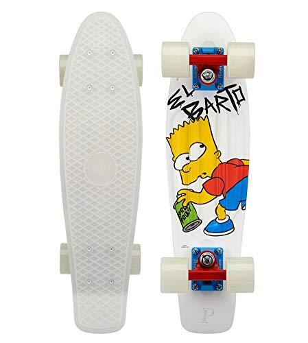 lordofbrands Penny monopatin Skate Skateboard Cruiser 22'' Simpsons El Barto Bart