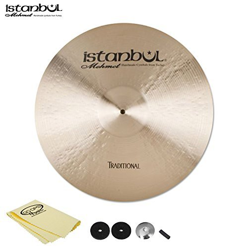 Istanbul JF-RM22-KIT-1 Mehmet Cymbals Traditional Medium Ride 22 [並行輸入品]   B07MKX1WPD