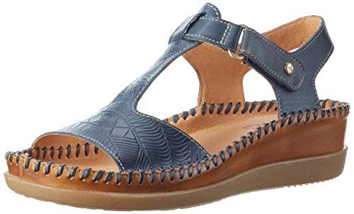 Pikolinos Cadaques W8k_v17, Sandalias con Cuña para Mujer Azul (Ocean)