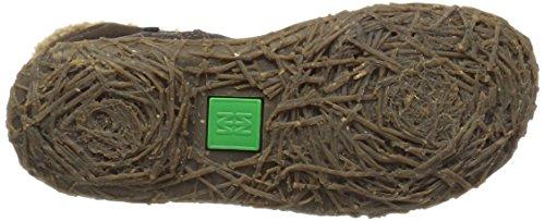 El Grain Lux EU Soft N758 Botines 38 para Suede Naturalista Marrón Mujer Brown Nido Irwtqr