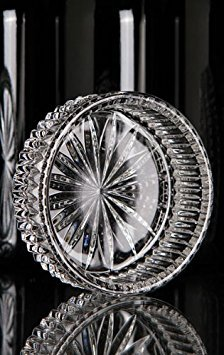 Waterford Crystal Heritage Wine Bottle Coaster ()