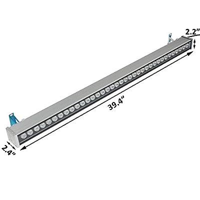 RSN LED Wall Washer Light 36W IP65 Waterproof 3 Years Warranty (Warm White, 36W)