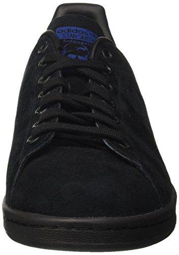 Chaussures De Basket-ball Adidas Unisexe Adulte Stan Smith Noir (noir Core / Core Royal Noir / Collégial)
