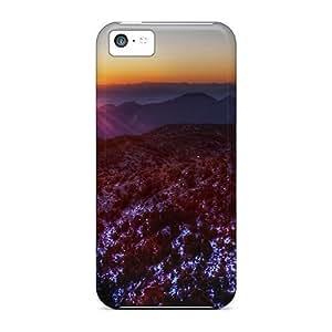 Dana Lindsey Mendez Snap On Hard Case Cover High Nevada Desert Sunset Protector For Iphone 5c