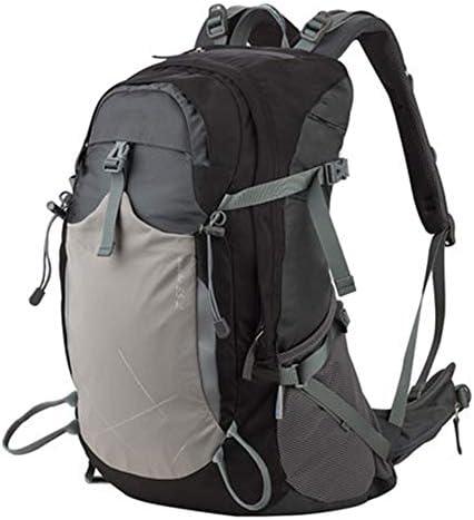 35Lアウトドアスポーツハイキングバックパック、 防水ナイロン素材、 ロッククライミング/旅行、 男性と女性,Black