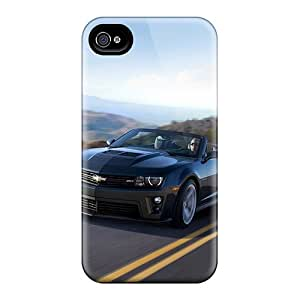 High Quality Phone Covers For Iphone 4/4s With Provide Private Custom Colorful Chevrolet Camaro Zl1 Skin CristinaKlengenberg