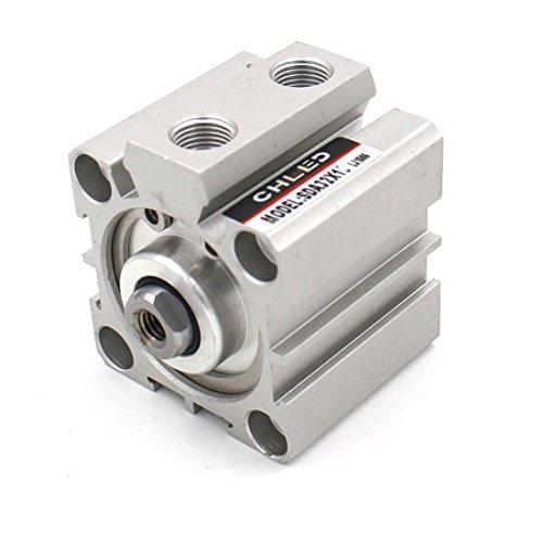Baomain Compact Thin Air Cylinder SDA 32x10 32mm Bore 10mm Stroke PT1/8 port ()