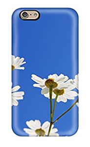 ZippyDoritEduard Fashion Protective Flower Case Cover For iphone 6 4.7(3D PC Soft Case)