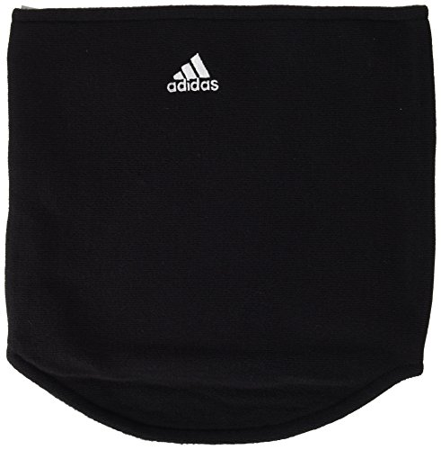 Adidas Black Neck Warmer Neck Gaiter Tube Fleece Free Size