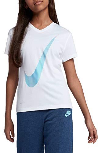bda65cc9 Nike Girl's Dry Unicorn Legend Graphic Tee (White, Small)