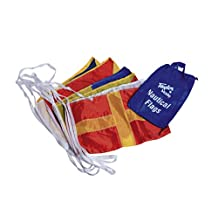 Taylor Made Products Decorative Code Boat Flag Set, 12 x 18-Inch