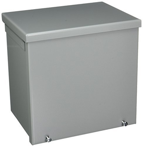 Hoffman A8R86 NEMA 3R Enclosure, Screw Cover, Galvanized, Paint Finish, 8