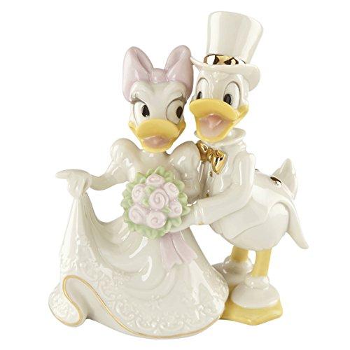 Lenox 856507 Classics Disney's Donald & Daisy's Dream Wedding Figurine by