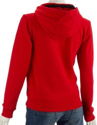 Emily the front strange zip à capuche rock out! specialty zip front sweat-shirt à capuche-homme-rouge-s