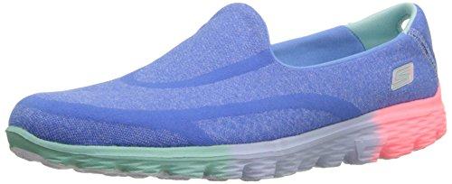 Skechers Go Walk 2 Sweet Socks, Mädchen Laufschuhe Blau (Blue Multi)