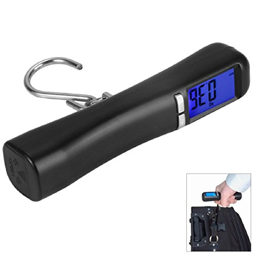 40kg Luggage Scale Portable LCD Digital Travel Suitcase Hanging Hook Scales Weights for Travel Outdoor Home