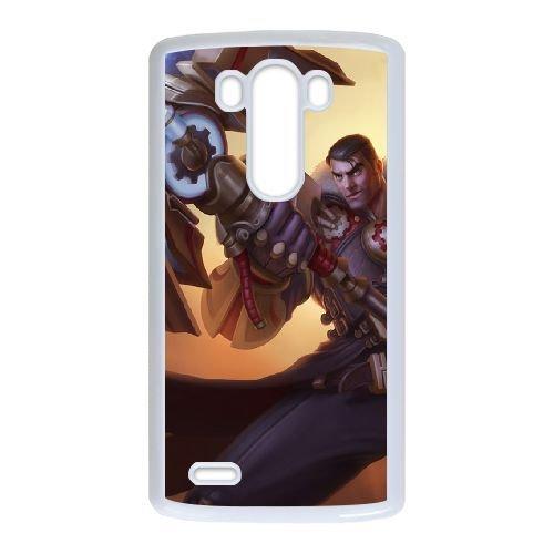 LG G3 phone case White League of Legends Jayce TTT2253182