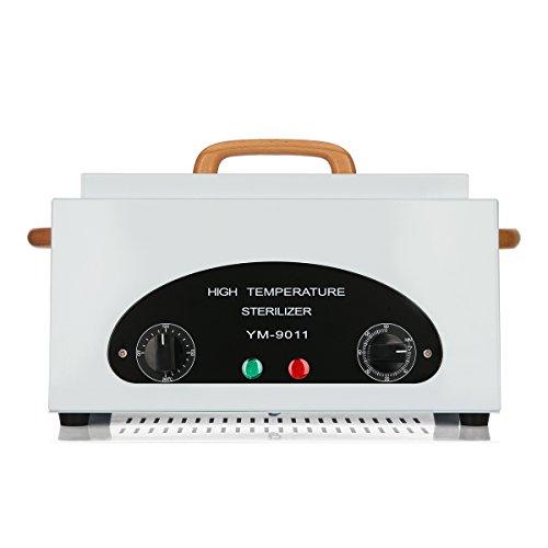 MAKARTT Nail Sterilizer Machine 200 Celsius Degree Dry Heat Nail Clipper Equipment