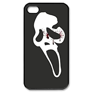 XOXOX Cover Custom Scream Phone Case For Iphone 4/4s [Pattern-6]