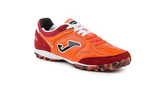 JOMA CALCETTO TOP FLEX TURF Futbal Fall Winter FUTBOL SALA BLANCO-NEGRO TF naranja