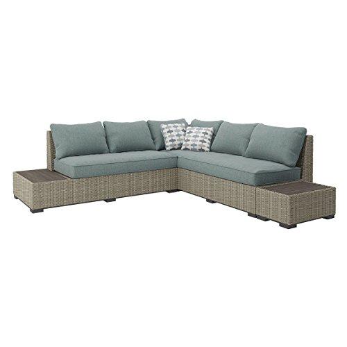 Cheap  Ashley Furniture Signature Design - Silent Brook 3-Piece Outdoor Seating Set -..