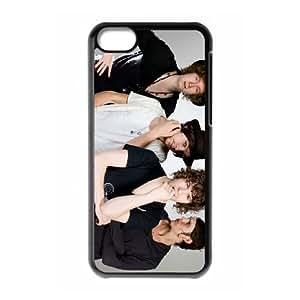 iPhone 5c Cell Phone Case Covers Black The Kooks Phone Case Cover Custom Protective XPDSUNTR00129
