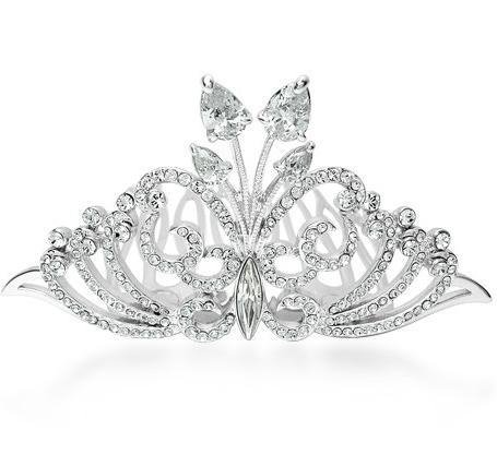 Generic Italina genuine counter Crystal crown tiara wedding hair jewelry marriage celebrate Bridal jewelry upscale ()