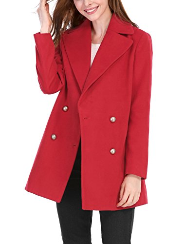 Red Womens Coat - 8