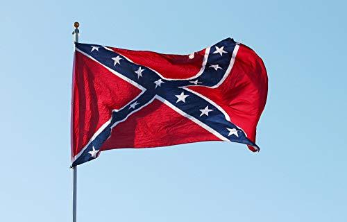 Battle Rebel Confederate Flag - 3x5' Robert E Lee Memorial Confederate Battle Flag