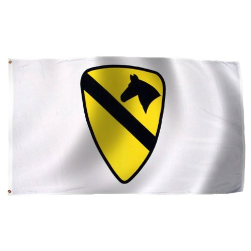 1St Cavalry Division Flag 3X5 Foot E Poly