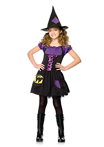 Dream Girl Witch Costume (Black Cat Witch Child's Costume - Large)