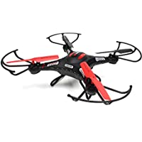 WonderTech Zodiac RC 6-Axis Gyro Remote Control Quadcopter Flying Drone with HD Camera, LED Lights, (Black)