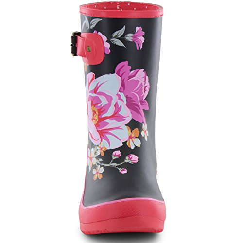Boots Mid Fuchsia Womens Rain Hilde Chooka qaCAw7y